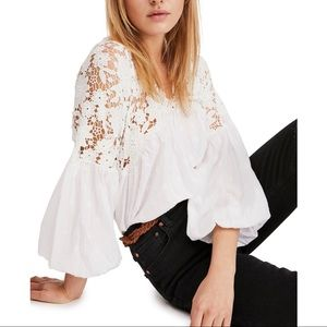 Free People Line Lace Top.